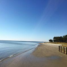 Pristine beaches on