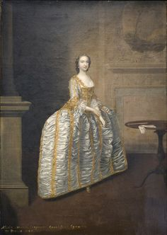 Hon. Alicia Maria Carpenter, daughter of George Carpenter, 2nd Baron Carpenter of Killaghy and Elizabeth Petty. Married, firstly, Charles Wyndham, 2nd Earl of Egremont, son of Sir William Wyndham, 3rd Bt. and Lady Catherine Seymour, on 12 March 1750/51.She married, secondly, Graf Hans Moritz Brühl on 6 June 1767. She died on 1 June 1794.  She held the office of Lady of the Bedchamber to Queen Charlotte.
