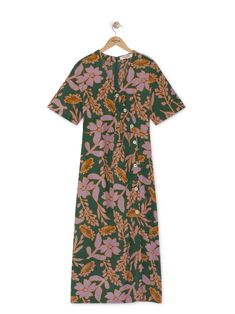 Long dress - Summer flowers - Woman