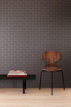 Pin from Wirzwelt M Wallpaper, Interior Decorating, Interior Design, Acacia, Interior Inspiration, Aztec, Art Deco, Table, Furniture