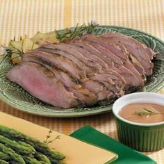 Dijon Leg of Lamb Recipe