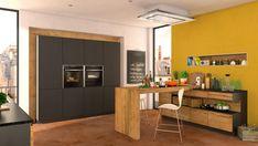 Cocina equipada con electrodomésticos NEFF Wabi Sabi, Breakfast, Kitchen, Table, Furniture, Home Decor, Play, Love, Small Kitchen With Island