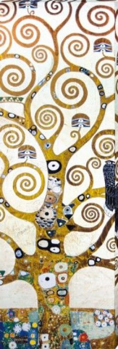 Gustav Klimt - The Tree Of Life Poster Mounted Canvas Print (59x20in) #61444