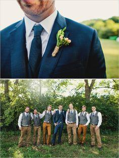 berry boutonniere  #tennesseewedding #weddingchicks http://www.weddingchicks.com/2013/12/27/family-affair-wedding/