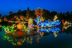 Jardins de lumière de sept au 1er novembre