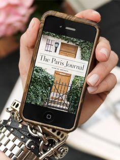 | P | The Paris Journal is a digital book.  Each volume covers one neighborhood over the course of one day, from morning to night.