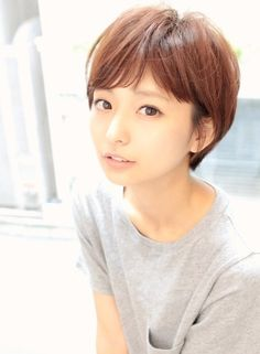 大人かわいいすっきりショート(髪型ショートヘア) Cool Hairstyles For Girls, Short Bob Hairstyles, Cool Haircuts, Girl Hairstyles, Wedding Hairstyles, Haircuts For Medium Length Hair, Medium Hair Styles, Short Hair Styles, Short Hair With Layers