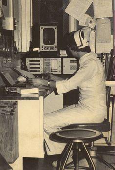 Windham Hospital nurse hard at work || #vintage #nurse #photography