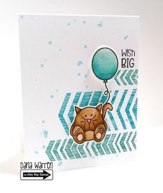 The Alley Way Stamps - Dana Warren - TAWS, Clear STamps, Cards, Party Pooper