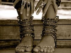 These jewels were made for walking!