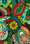 mostly green  textile design