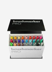 "Brushmarker PRO ""MiniBox"" 26 kolorów+ blender - komplet markerów w kategorii Brushmarker PRO / Markery, pisaki / Rysunek i Kaligrafia"