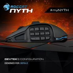 #myNYTH setup! Build your own Nyth Modular MMO Gaming Mouse and win one with gold-plated buttons!