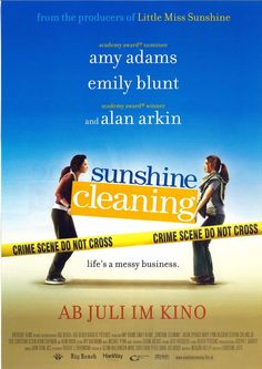SUNSHINE CLEANING - AMY ADAMS - EMILY BLUNT - 2008 - FILMPOSTER A4