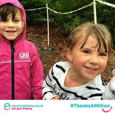 """""""#ThanksaMillion Easyfundraising - our Easy money really boosts our Fundraising efforts"""" #Giving #Fundraising #Charity"""
