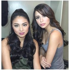 Nadine and Yassi Nadine Lustre, Jadine, Soft Curls, Best Actress, Human Hair Extensions, Asian Woman, Hair Color, Actresses, Actors