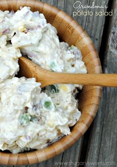 Grandma's Potato Salad recipe: seriously the best, look no further!