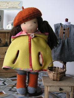 Waldorf inspired doll made by Lalinda.pl