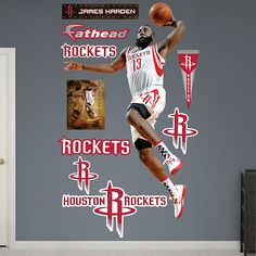 James Harden - I actually have this in my room! Sooo cool