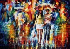 Amazing oil painting by Leonid Afremov