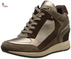 Basket, color Marron , marca GEOX, modelo Basket GEOX D NYDAME A Marron - Chaussures geox (*Partner-Link)