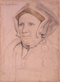 Hans Holbein the Younger (1497/8-1543) - Margaret, Lady Butts (c.1485-1545)