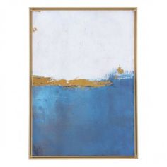 Make an abstract style statement with the Zuo Modern Contemporary Azure Canvas Wall Art . This bold canvas print features vibrant blue shades complemented. Canvas Frame, Canvas Wall Art, Wood Canvas, Yellow Wall Art, Contemporary Wall Art, Blue Canvas, Abstract Wall Art, Home Decor Wall Art, Room Decor