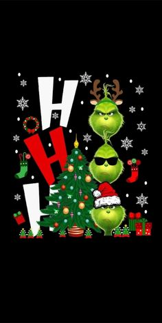 Grinch Memes, Le Grinch, Grinch Christmas, Christmas Humor, Christmas Crafts, Christmas Trees, Xmas Wallpaper, Winter Wallpaper, Christmas Graphics