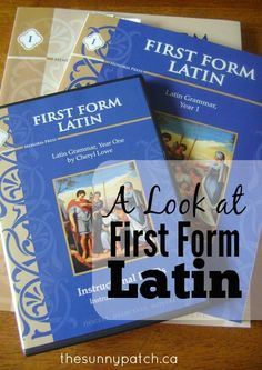 Interested in learning Latin but didn't know where to start? This solid Latin program from Memoria Press, beginning with First Form Latin, will create a firm foundation for future Latin learning.