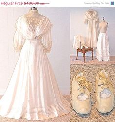 Antique Gowns by Katherine Schomp on Etsy