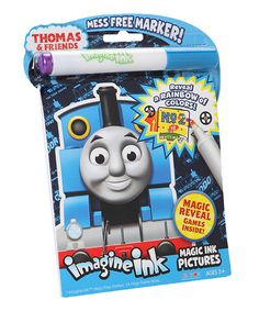 Thomas Imagine Ink Mess-Free Game Book by Thomas & Friends #zulily #zulilyfinds