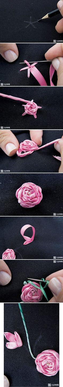 Blume Sticken                                                                                                                                                     Mehr