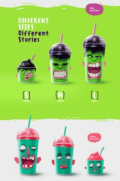 Shake my head - the milk shakes packing design on Behance Cool Packaging, Food Packaging Design, Coffee Packaging, Beverage Packaging, Packaging Design Inspiration, Bottle Packaging, Milk Shakes, Paper Cup Design, Gfx Design