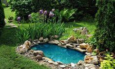 Как сделать пруд из ванны?   Чтобы искусственный водоем стал настоящим украшением дачного или приусадебного участка, необходимо учесть массу важных моментов