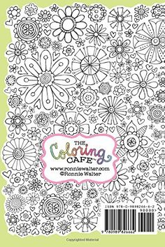 Amazon Coloring Cafe Cuppa Calm Journal A