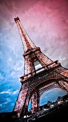 Beautiful Eiffel Tower - Tap to see more of the most romantic Paris city wallpapers! - @mobile9