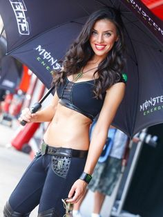 The most beautiful women on the planet from the highest quality images and the best photographers. CLICK HIGH-RES for the best view. Monster Energy Girls, Monster Girl, Motogp, Grand Prix, F1 Grid Girls, Formula 1 Girls, Mode Geek, Pit Girls, Promo Girls