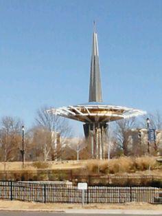 Prayer tower at ORU
