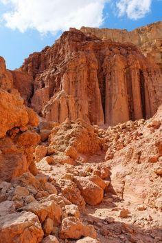 """*ISRAEL ~ Ett """"sand"""" berg nere vid Eliat,"""