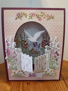 Fancy Fold Cards, Folded Cards, Make Your Own Card, Interactive Cards, 3d Paper Crafts, Tent Cards, Beautiful Handmade Cards, Stamping Up Cards, Sympathy Cards
