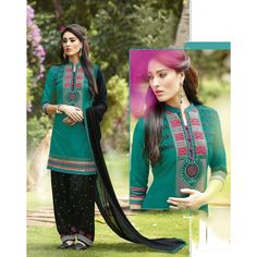 new arrival Straight‬ Pattern with embroidery work patiala suit