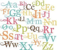 Alphabet SVG cut files for scrapbooking alphabet svg cut files for cutting machines free svgs