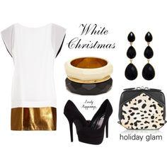 White Christmas Holiday Style