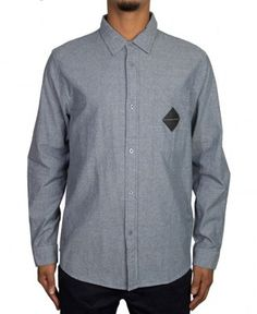 Us Versus Them - Riot Chambray L/S Button-Up - $56