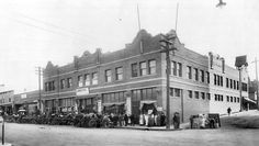 Then and Now photos: City Market building. #spokane #history