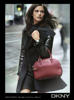 DKNY Fall 2012 Ad Campaign  Ashley Greene photographed by Peter Lindbergh