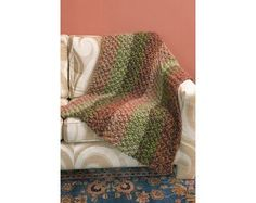 Spiced Knit Afghan Pattern