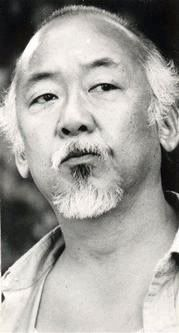 Pat Morita   June 28, 1932 - November 24, 2005 .... Wax on right hand, wax off left hand. Breathe in through nose out through mouth. <3 Mr Miyagi
