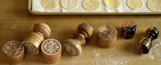 Artisanal Pasta Tools Corzetti Stamps