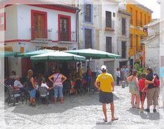 Granada. Bar Las Cuevas.
